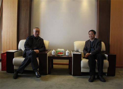集团总经理章小华,副总经理许有元,环保科技总经理范黎明,项目管理部