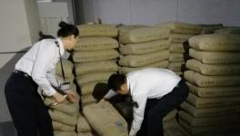 装修要小心买到假货! 羊城晚报记者暗访发现假水泥17.5吨