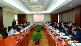 安徽省人大常委会副主任谢广祥来海螺集团调研