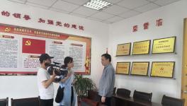 南昌市电视台记者来南昌海螺调研采访