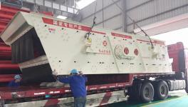江苏山宝集团:YK系列圆振动筛助力全椒海螺水泥骨料筛分项目