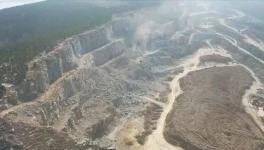 无视环保政策!这家水泥厂采石场污染严重!