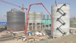 尧柏日产万吨水泥熟料生产线项目加快建设进度